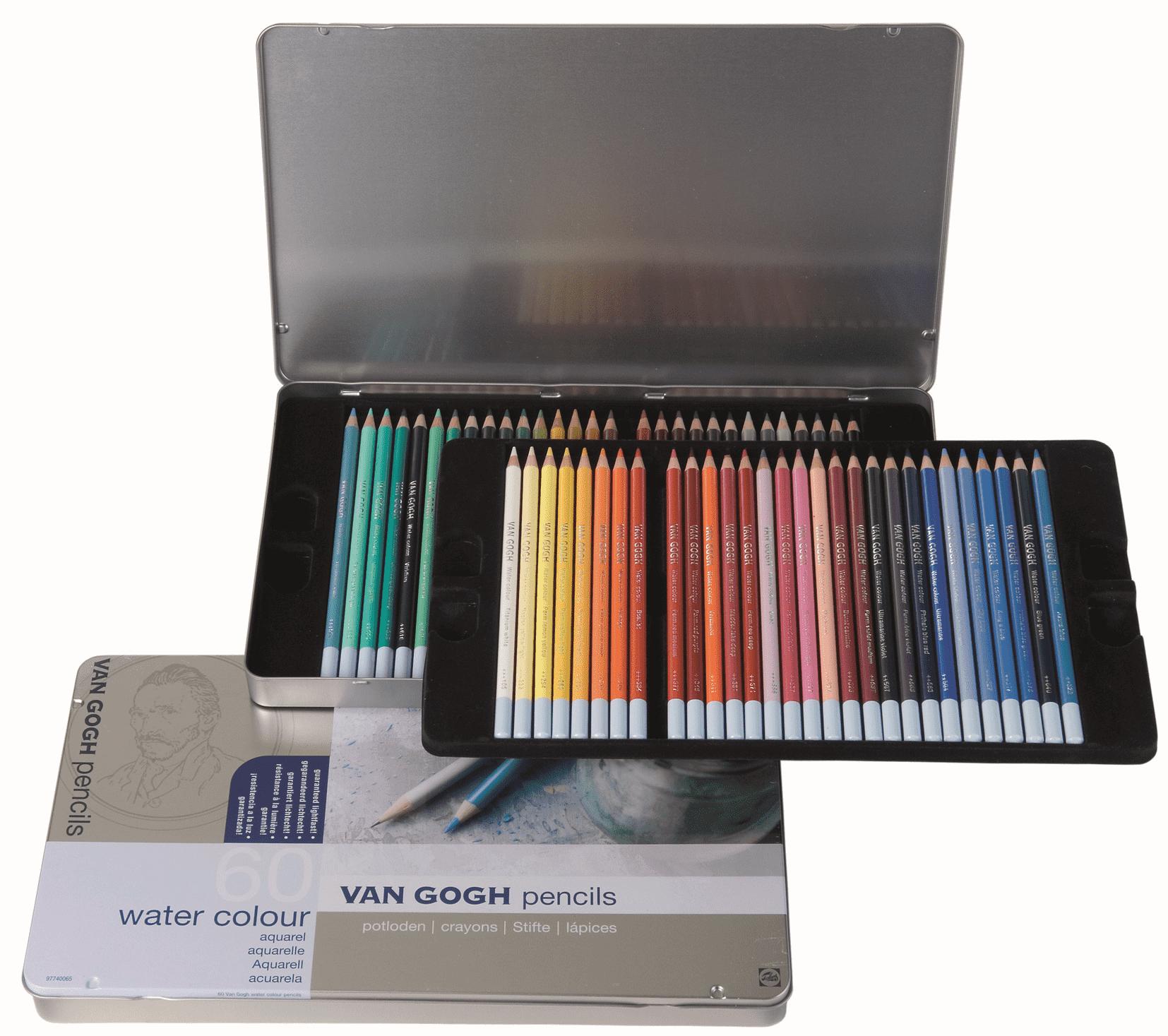 Художественные цветные карандаши – каким брендам отдать предпочтение
