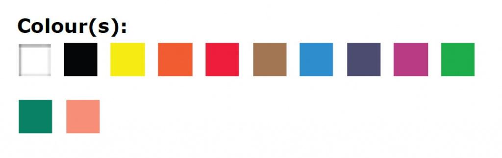 60518012- цвета в наборе