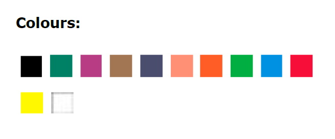 60119012-цвета в наборе